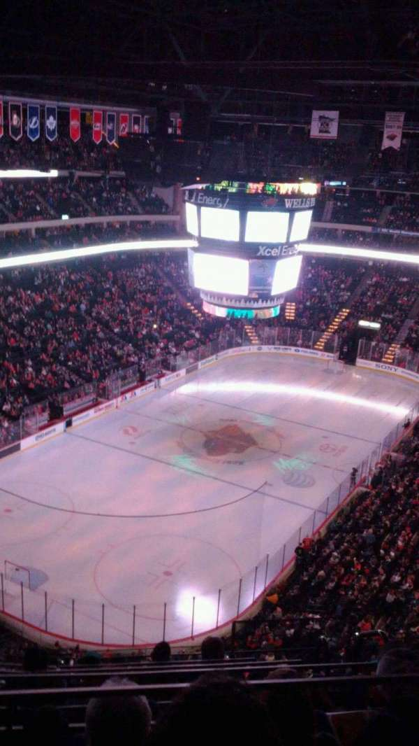 Xcel Energy Center, section: 209, row: 6, seat: 3