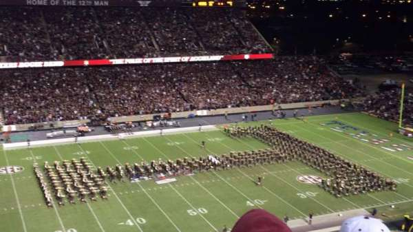 Kyle Field, section: 313, row: 5, seat: 11