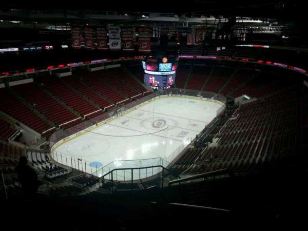PNC Arena, section: 311, row: J, seat: 1