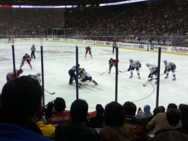 Prudential Center, section: 1, row: 9, seat: 11