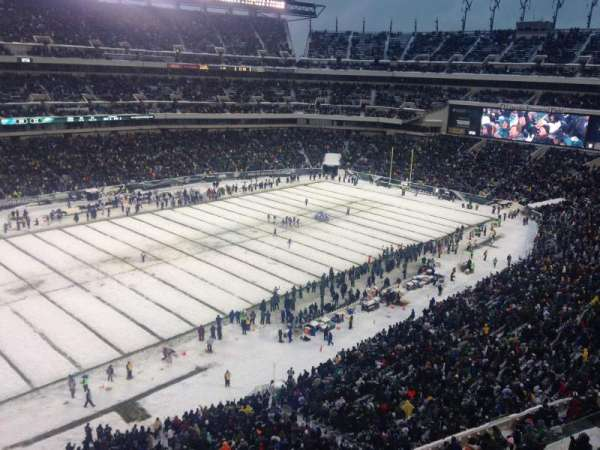 Lincoln Financial Field, section: 241, row: 1, seat: 26