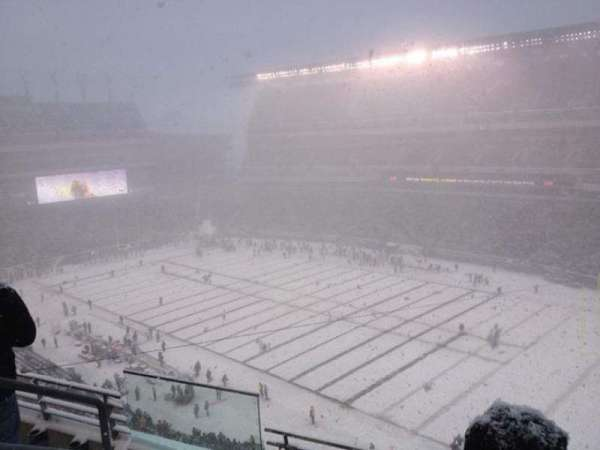 Lincoln Financial Field, section: 231, row: 4, seat: 11