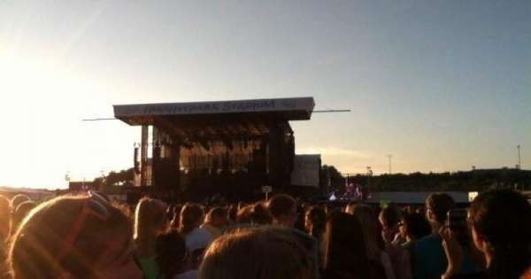 Hershey Park Stadium, section: F, row: 74, seat: 21