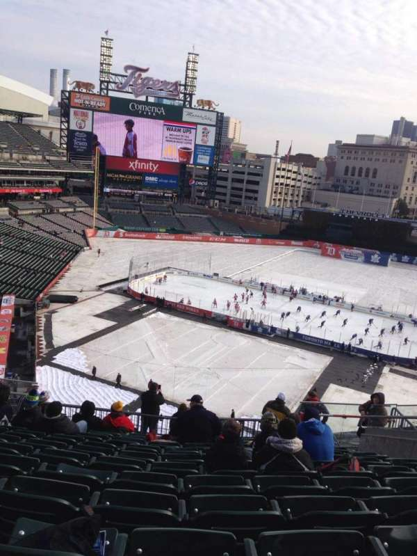 Comerica Park, section: 325, row: 12, seat: 9