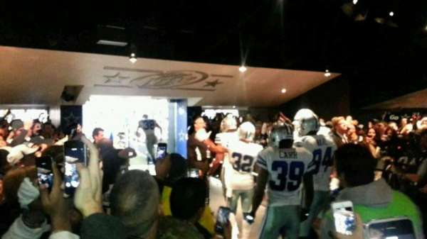 AT&T Stadium, section: Tunnel