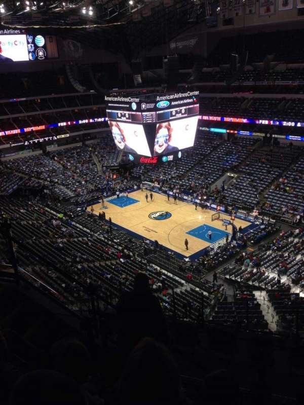 American Airlines Center, section: 305, row: J, seat: 3