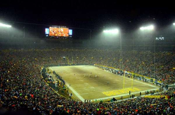 Lambeau Field, section: 442S, row: 1, seat: 1