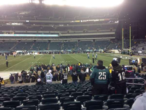 Lincoln Financial Field, section: 123, row: 14, seat: 11