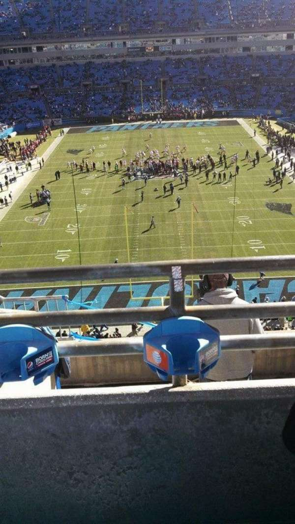 Bank of America Stadium, section: 501, row: 2, seat: 14