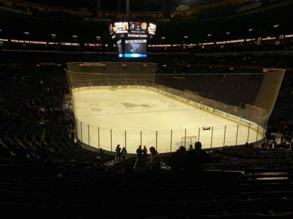 Enterprise Center, section: 124, row: FF, seat: 8