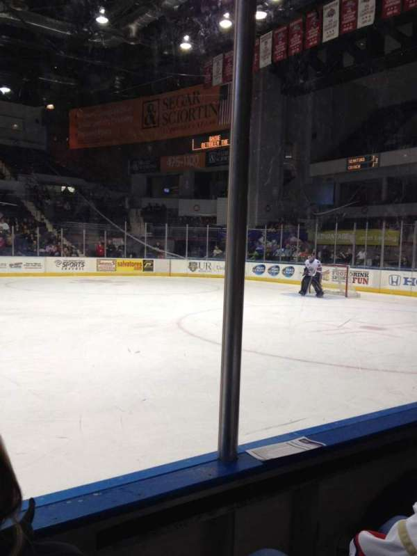 Blue Cross Arena, section: 125, row: B, seat: 6