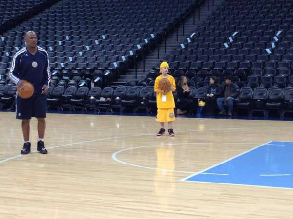 Pepsi Center, section: Nuggets Bench