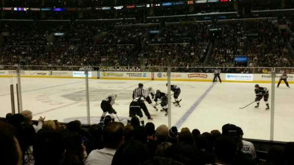 Staples Center, section: 110, row: 9, seat: 13