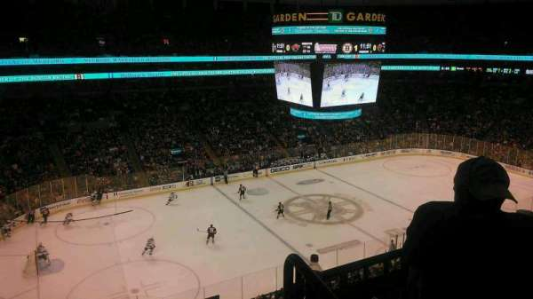 TD Garden, section: Old Bal 318, row: 3, seat: 1