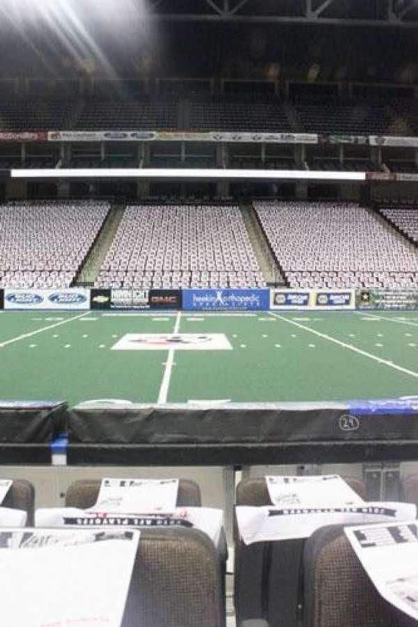 VyStar Veterans Memorial Arena, section: 103, row: C, seat: 11