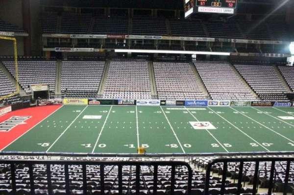 VyStar Veterans Memorial Arena, section: 104, row: W, seat: 3