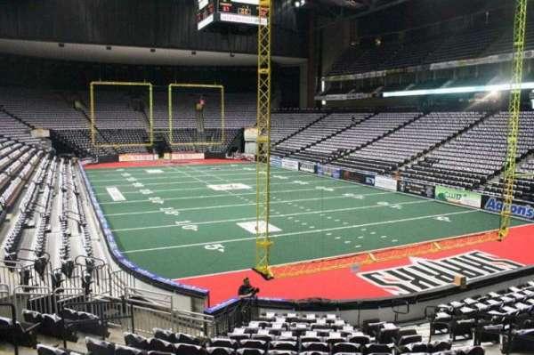 Jacksonville Veterans Memorial Arena, section: 110, row: K, seat: 10