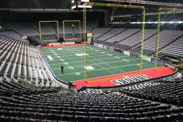 Jacksonville Veterans Memorial Arena, section: 110, row: W, seat: 13