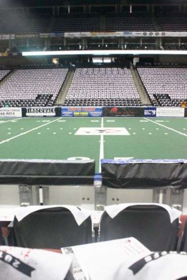 VyStar Veterans Memorial Arena, section: 114, row: C, seat: 10