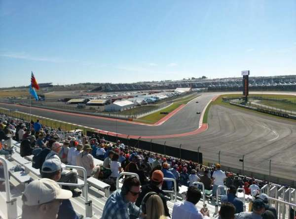 Circuit of the Americas, section: Turn 12 GrandStand