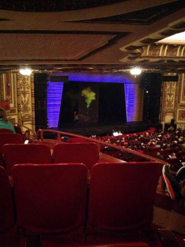 Cadillac Palace Theater, section: Dress Circle L, row: LL, seat: 3