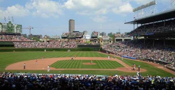 Wrigley Field, section: 215, row: 11, seat: 3