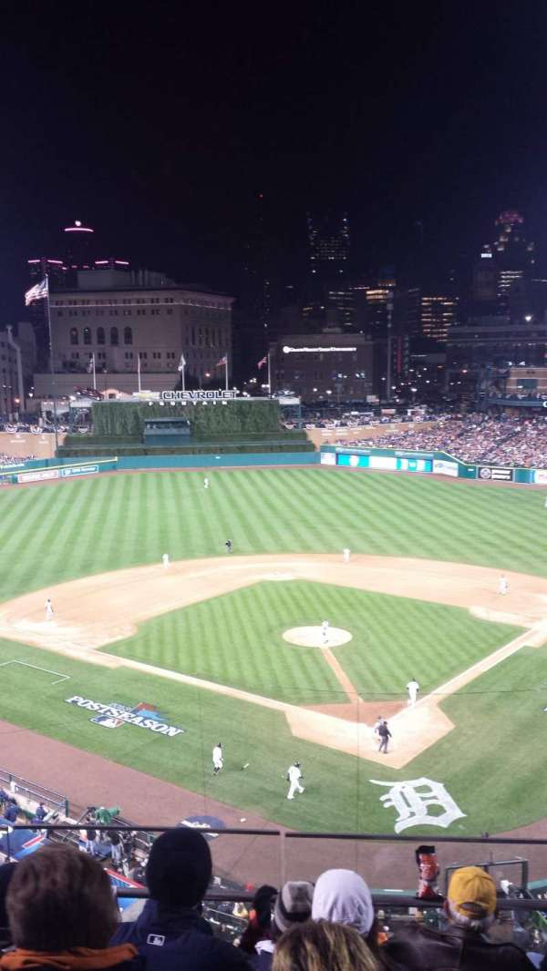 Comerica Park, section: 329, row: C, seat: 7