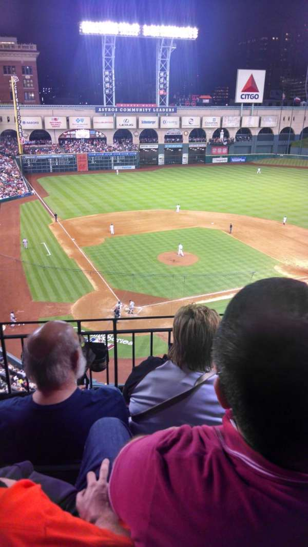 Minute Maid Park, section: 321, row: 3, seat: 12