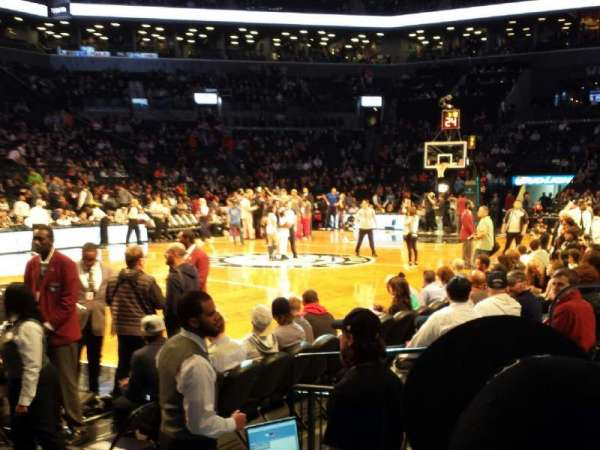Barclays Center, section: 29, row: 4, seat: 2