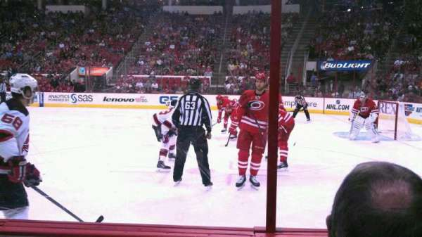 PNC Arena, section: 116, row: C, seat: 5