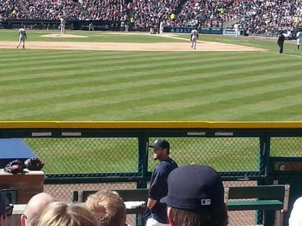 Comerica Park, section: 148, row: H, seat: 20