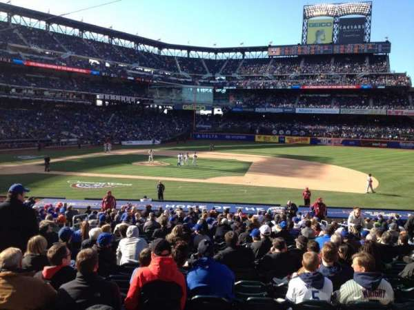 Citi Field, section: 113, row: 23, seat: 8