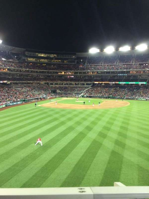 Nationals Park, section: 241, row: A, seat: 24