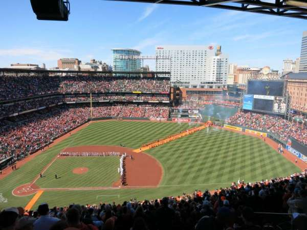 Oriole Park at Camden Yards, section: 322, row: 25, seat: 7