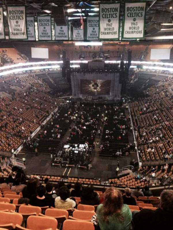 TD Garden, section: Bal 308, row: 13, seat: 8