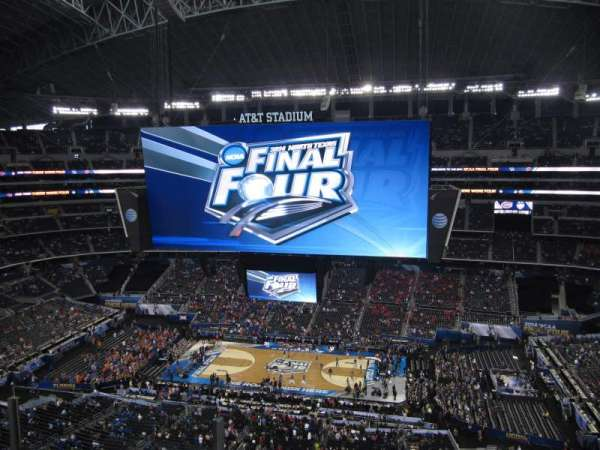 AT&T Stadium, section: 441, row: 3, seat: 27