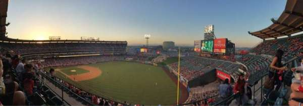 Angel Stadium, section: V533, row: C, seat: 20