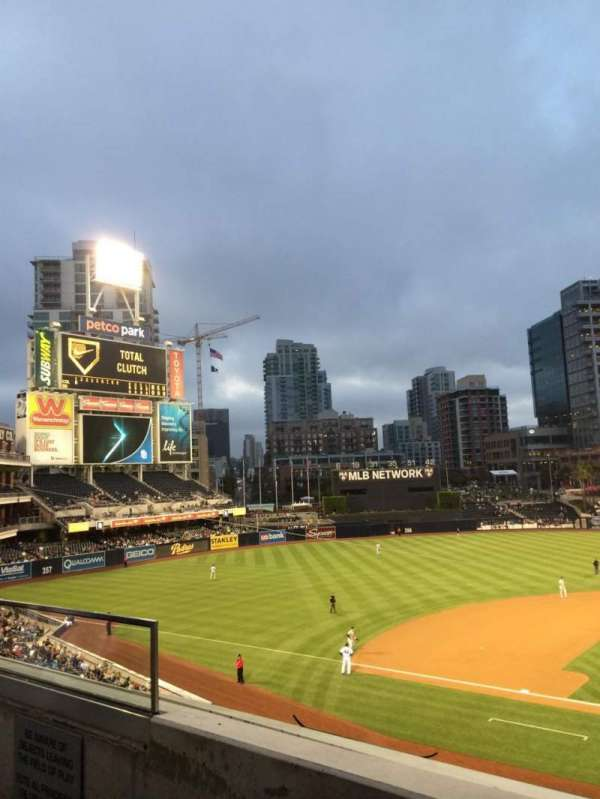 Petco Park, section: TI206, row: 2, seat: 17