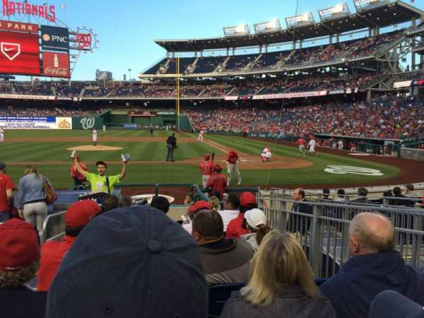 Nationals Park, section: 118, row: M, seat: 7