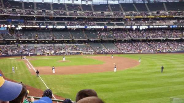 Miller Park, section: 206, row: 5, seat: 14