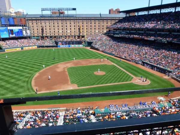 Oriole Park at Camden Yards, section: 354, row: 1, seat: 11