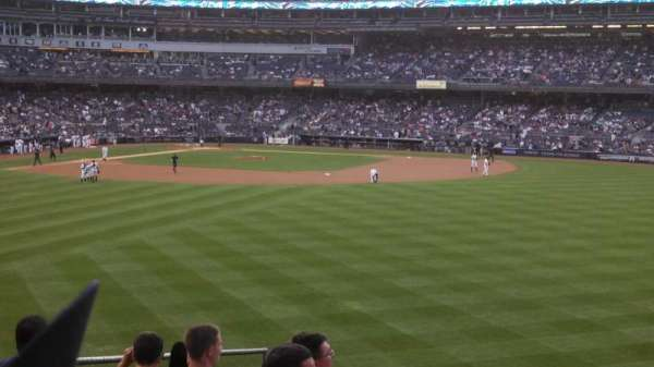 Yankee Stadium  , section: 202, row: 11