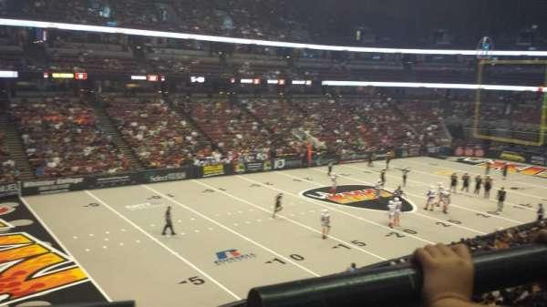 Honda Center, section: 323, row: A, seat: 4