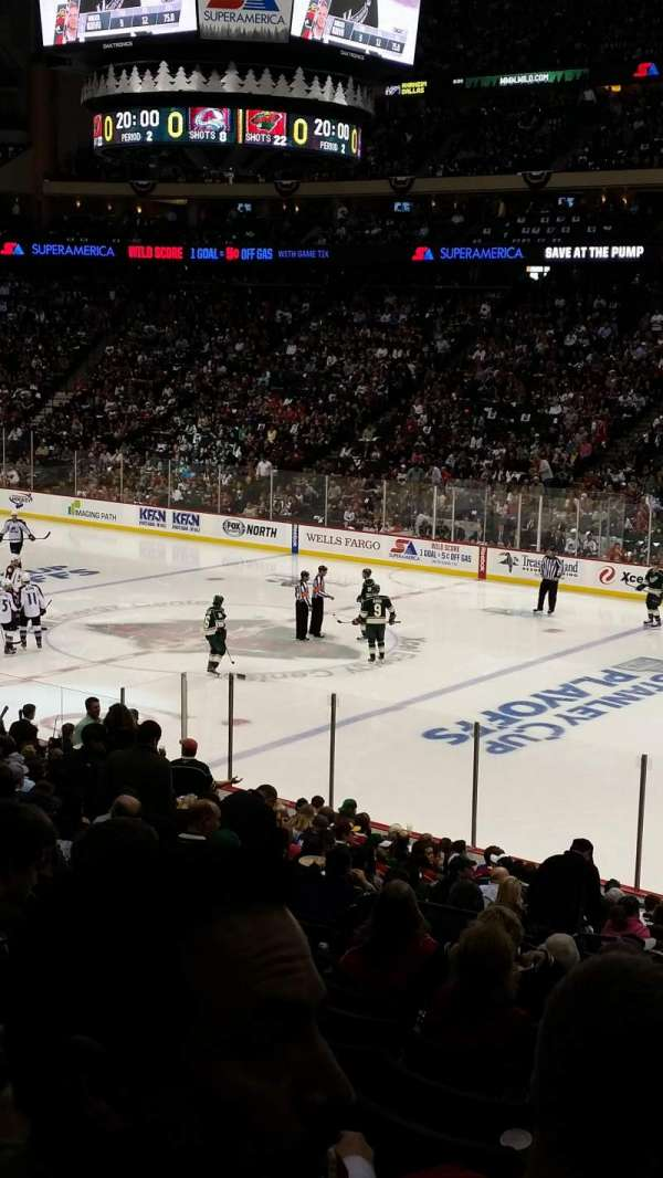 Xcel Energy Center, section: 115, row: 14, seat: 13