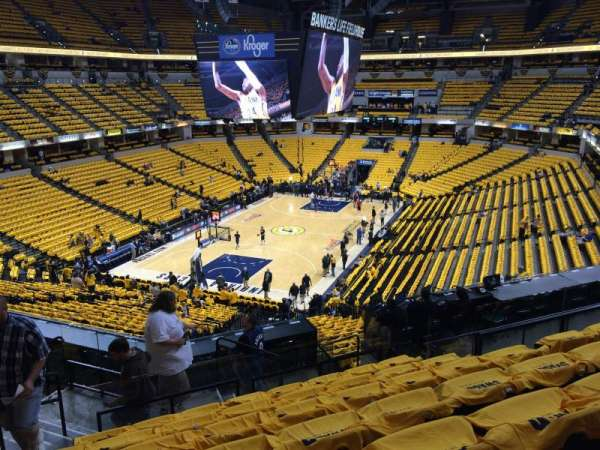 Bankers Life Fieldhouse, section: 19, row: 34, seat: 24