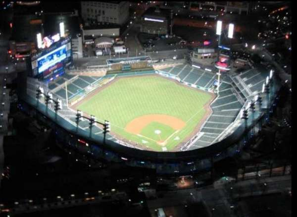 Comerica Park, section: Aerial View