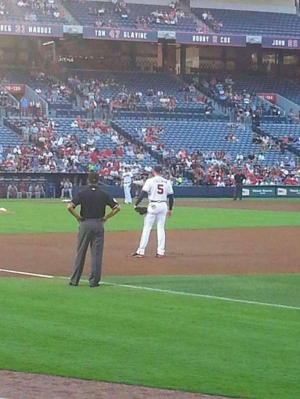 Turner Field, section: 119R, row: 5, seat: 10