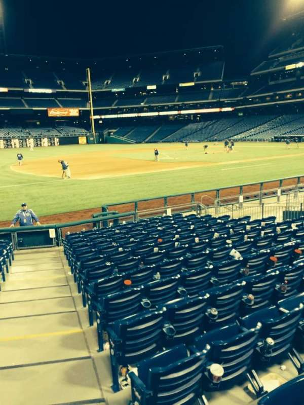Citizens Bank Park, section: 133, row: 13, seat: 1