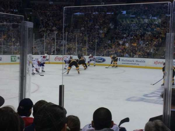TD Garden, section: Loge 2, row: 6, seat: 6