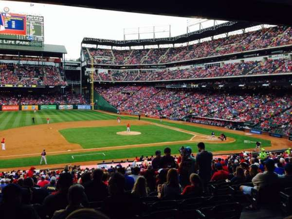 Globe Life Park in Arlington, section: 119, row: 34, seat: 5